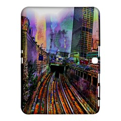 Downtown Chicago City Samsung Galaxy Tab 4 (10 1 ) Hardshell Case
