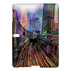 Downtown Chicago City Samsung Galaxy Tab S (10 5 ) Hardshell Case