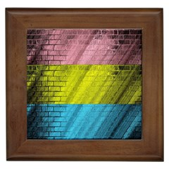Brickwall Framed Tiles