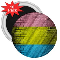 Brickwall 3  Magnets (10 pack)