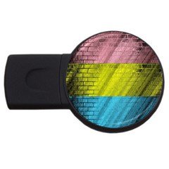 Brickwall USB Flash Drive Round (1 GB)