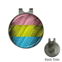 Brickwall Hat Clips with Golf Markers
