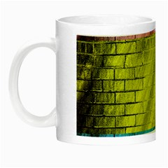 Brickwall Night Luminous Mugs