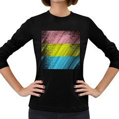 Brickwall Women s Long Sleeve Dark T-Shirts