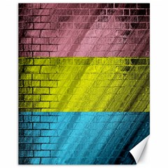 Brickwall Canvas 11  X 14