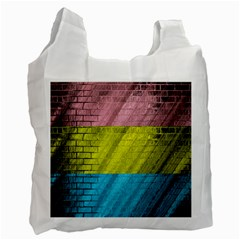 Brickwall Recycle Bag (One Side)