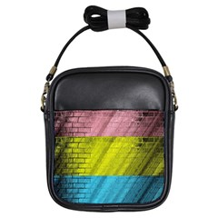 Brickwall Girls Sling Bags