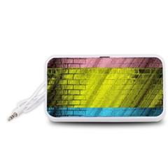 Brickwall Portable Speaker (White)