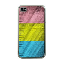 Brickwall Apple Iphone 4 Case (clear)
