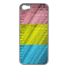 Brickwall Apple iPhone 5 Case (Silver)