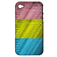 Brickwall Apple Iphone 4/4s Hardshell Case (pc+silicone)