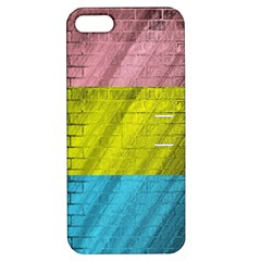 Brickwall Apple Iphone 5 Hardshell Case With Stand