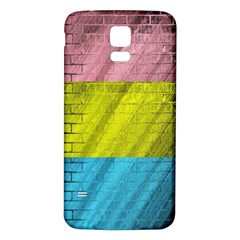 Brickwall Samsung Galaxy S5 Back Case (white)
