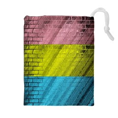Brickwall Drawstring Pouches (Extra Large)