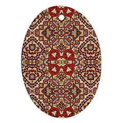Seamless Pattern Based On Turkish Carpet Pattern Ornament (oval)