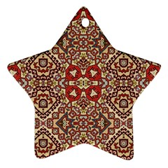 Seamless Pattern Based On Turkish Carpet Pattern Star Ornament (Two Sides)