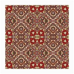 Seamless Pattern Based On Turkish Carpet Pattern Medium Glasses Cloth (2-Side)
