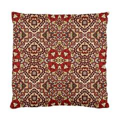 Seamless Pattern Based On Turkish Carpet Pattern Standard Cushion Case (Two Sides)