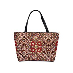 Seamless Pattern Based On Turkish Carpet Pattern Shoulder Handbags