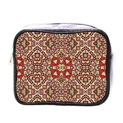 Seamless Pattern Based On Turkish Carpet Pattern Mini Toiletries Bags