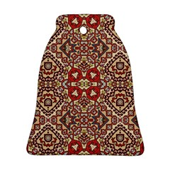Seamless Pattern Based On Turkish Carpet Pattern Bell Ornament (Two Sides)