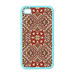 Seamless Pattern Based On Turkish Carpet Pattern Apple Iphone 4 Case (color)