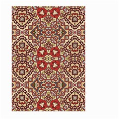 Seamless Pattern Based On Turkish Carpet Pattern Large Garden Flag (Two Sides)
