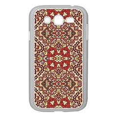 Seamless Pattern Based On Turkish Carpet Pattern Samsung Galaxy Grand Duos I9082 Case (white)