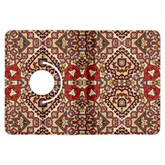 Seamless Pattern Based On Turkish Carpet Pattern Kindle Fire HDX Flip 360 Case