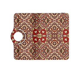 Seamless Pattern Based On Turkish Carpet Pattern Kindle Fire Hdx 8 9  Flip 360 Case