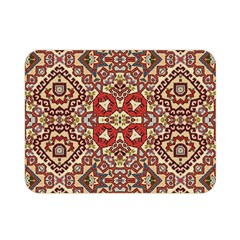 Seamless Pattern Based On Turkish Carpet Pattern Double Sided Flano Blanket (Mini)