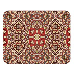 Seamless Pattern Based On Turkish Carpet Pattern Double Sided Flano Blanket (large)