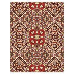 Seamless Pattern Based On Turkish Carpet Pattern Drawstring Bag (Large)