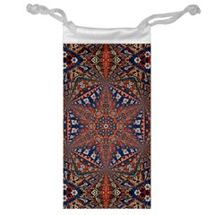 Armenian Carpet In Kaleidoscope Jewelry Bag