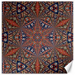 Armenian Carpet In Kaleidoscope Canvas 12  x 12