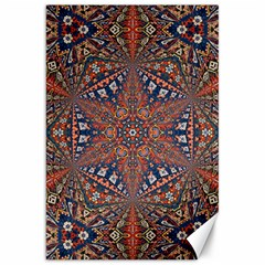 Armenian Carpet In Kaleidoscope Canvas 20  x 30