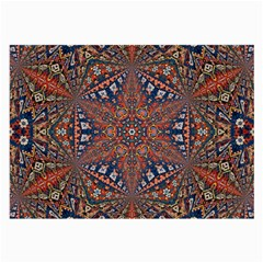 Armenian Carpet In Kaleidoscope Large Glasses Cloth