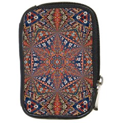 Armenian Carpet In Kaleidoscope Compact Camera Cases