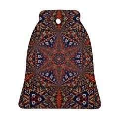 Armenian Carpet In Kaleidoscope Bell Ornament (Two Sides)