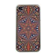 Armenian Carpet In Kaleidoscope Apple Iphone 4 Case (clear)