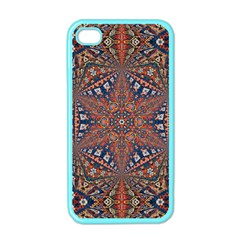 Armenian Carpet In Kaleidoscope Apple Iphone 4 Case (color)