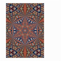 Armenian Carpet In Kaleidoscope Small Garden Flag (Two Sides)