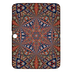 Armenian Carpet In Kaleidoscope Samsung Galaxy Tab 3 (10 1 ) P5200 Hardshell Case