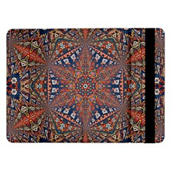 Armenian Carpet In Kaleidoscope Samsung Galaxy Tab Pro 12 2  Flip Case