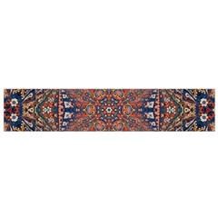 Armenian Carpet In Kaleidoscope Flano Scarf (Small)