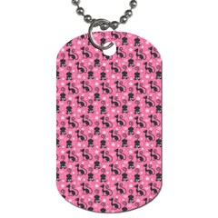 Cute Cats I Dog Tag (two Sides)