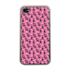 Cute Cats I Apple iPhone 4 Case (Clear)