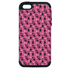 Cute Cats I Apple iPhone 5 Hardshell Case (PC+Silicone)