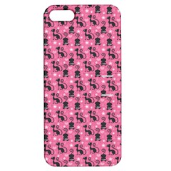 Cute Cats I Apple iPhone 5 Hardshell Case with Stand