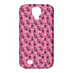 Cute Cats I Samsung Galaxy S4 Classic Hardshell Case (PC+Silicone)